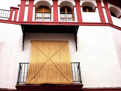 Photograph - Balcony Shade In Seville by John Rizzuto