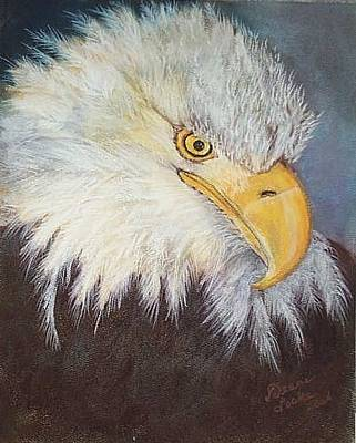 Pastel - Bald Eagle by Deane Locke