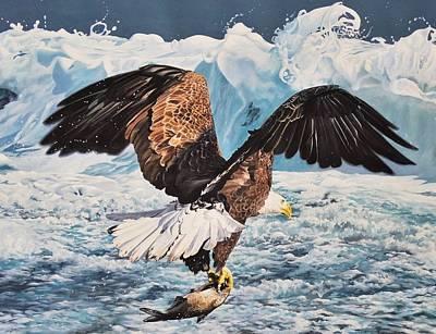 Wall Art - Painting - Bald Eagle by Julian Wheat