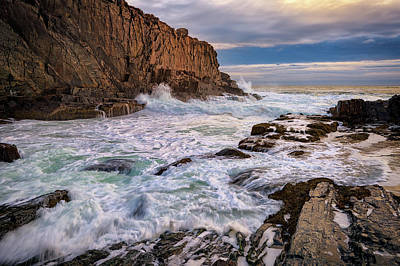 Photograph - Bald Head Cliff by Rick Berk