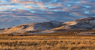 Photograph - Bald Mountain At Dawn 2 by The Couso Collection