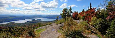 Photograph - Bald Mountain Autumn Panorama by David Patterson