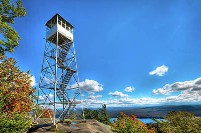 Photograph - Bald Mountain Fire Tower by David Patterson