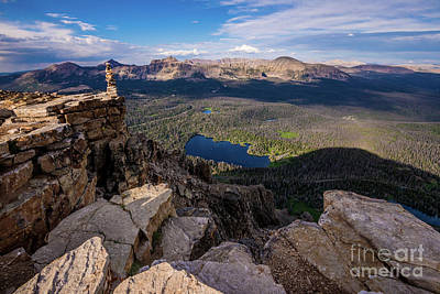 Photograph - Bald Mountain - Mirror Lake - Uinta Mountains - Utah by Gary Whitton