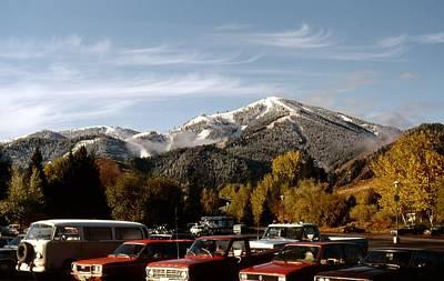 Photograph - Bald Mountain Ski Area by John Schneider