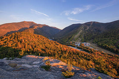 Photograph - Bald Mountain Sunset Glow by Chris Whiton