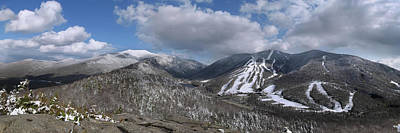 Photograph - Bald Mountain Winter Panorama by Chris Whiton