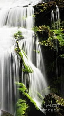 Photograph - Bald River Falls by Nicki McManus