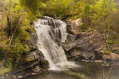 Photograph - Bald River Falls Spring by Rebecca Hiatt