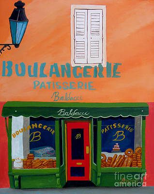Painting - Baldacci Bakery by Anthony Dunphy