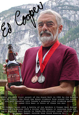Photograph - Dm2975-baldwin And Cooper's Best Bitter Ale  by Ed  Cooper Photography