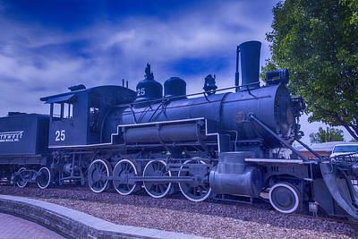 Train Photograph - Baldwin Steam Engine by Garry Gay