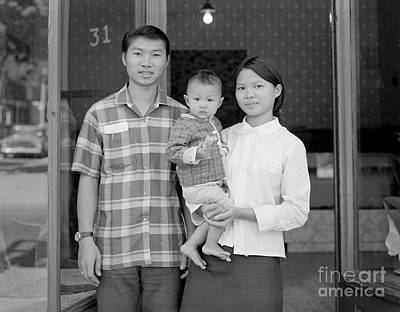 Photograph - Baldwin Street Family by Lionel F Stevenson