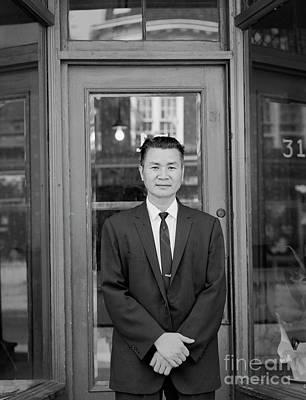 Photograph - Baldwin Street Man by Lionel F Stevenson