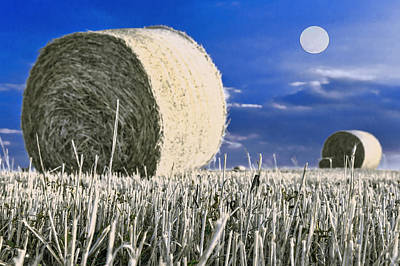 Bales Painting - Bale Haystack by Asar Studios