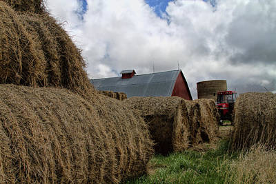 Photograph - Baled View by Alana Thrower