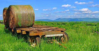 Photograph - Bales At Rest by The American Shutterbug Society