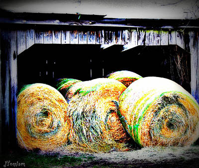 Photograph - Bales by Jill Tennison
