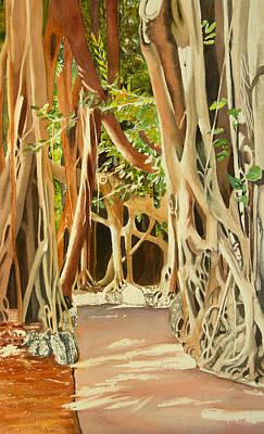 Wall Art - Painting - Balete by Terry Arroyo Mulrooney