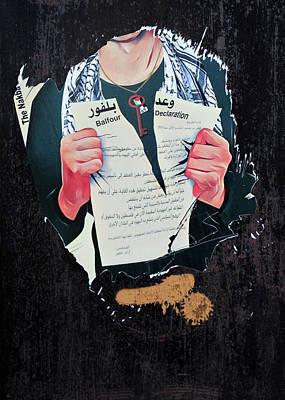 Photograph - Balfour Declaration by Munir Alawi