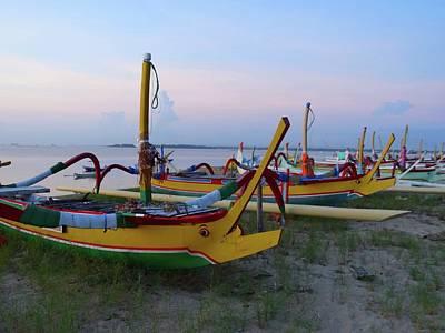 Exploramum Photograph - Bali Boats by Exploramum Exploramum