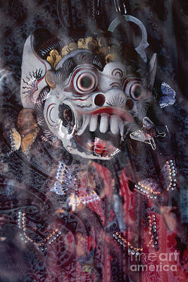 Photograph - Bali Dance Theater Mask - Barong I by Sharon Hudson