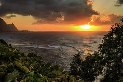 Photograph - Bali Hai Sunset by James Eddy