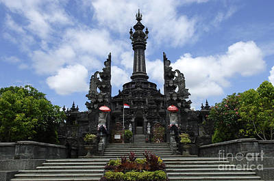 Photograph - Bali Indonesia Architecture by Bob Christopher