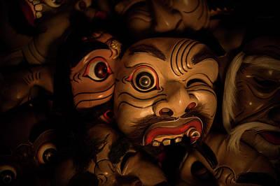 Photograph - Bali Mask by Lucas Dragone