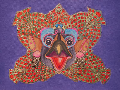 Painting - Bali Mask by Patricia Beebe