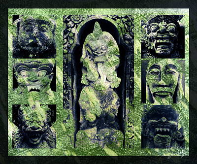 Photograph - Bali Masks by Jamie Johnson