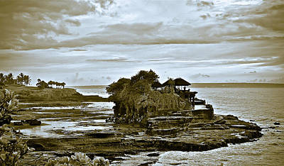 Photograph - Bali, Sacred Temple Of Varuna by David Perea