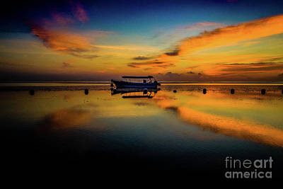 Photograph - Bali Sunrise 3 by M G Whittingham