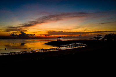 Photograph - Bali Sunrise I by M G Whittingham