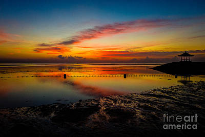 Photograph - Bali Sunrise II by M G Whittingham