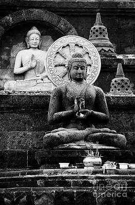 Photograph - Balinese Buddha Image  by Craig Lovell