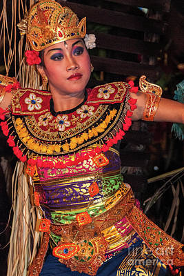 Photograph - Balinese Dancer 6 by Werner Padarin