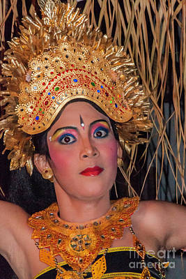 Photograph - Balinese Dancer by Werner Padarin