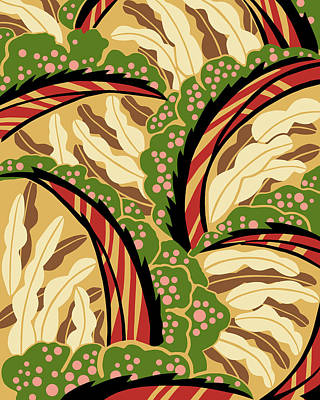 Digital Art - Balinesia Hibiscus by Nancy Lorene
