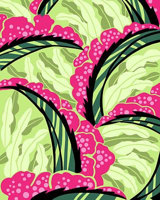 Digital Art - Balinesia Passion Flower by Nancy Lorene