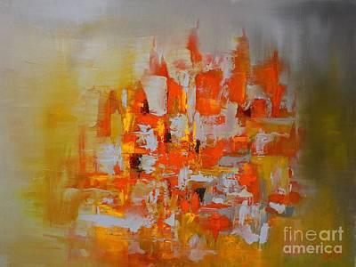 Painting - Balistic by Preethi Mathialagan