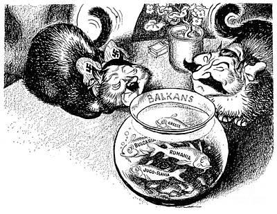 Photograph - Balkan Cartoon, 1939 by Granger