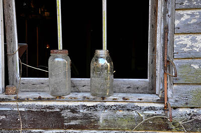 Canning Jars Photograph - Ball And Atlas by Todd Hostetter
