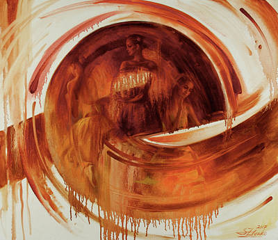 Painting - Ball-e-t by Serguei Zlenko