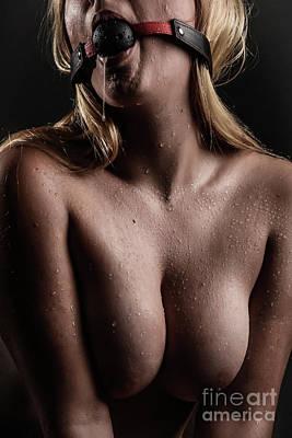 Photograph - Ball Gag by Erotic Art