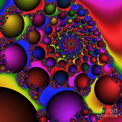 Ball Galaxy 203 Art Print by Rolf Bertram