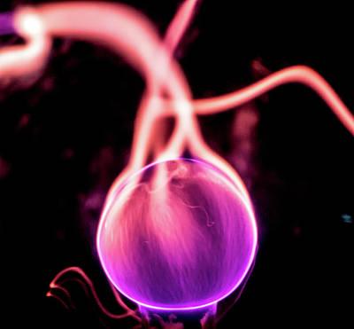 Photograph - Ball Of Plasma by Tyson Kinnison