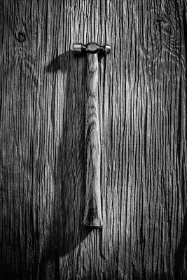 Photograph - Ball Peen Hammer by YoPedro