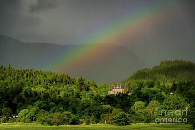 Photograph - Ballachulish Rainbow by George Garbeck