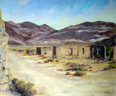 Painting - Ballarat California by Evelyne Boynton Grierson